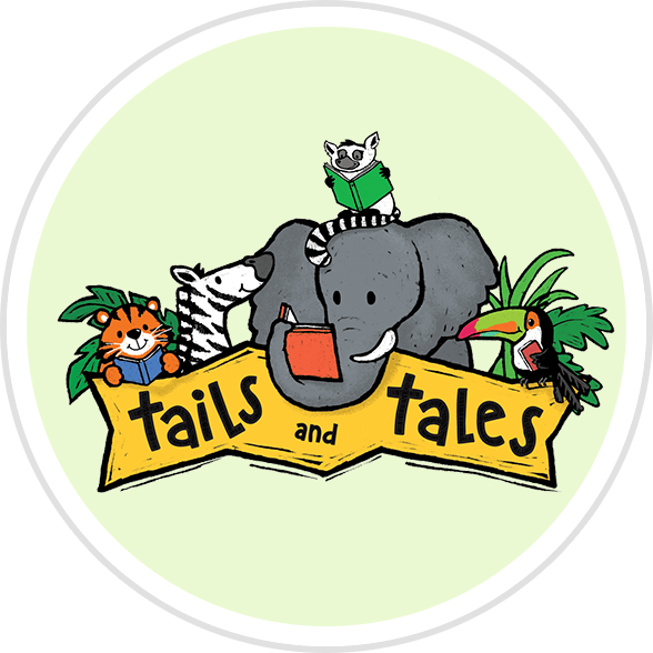 Summer Reading 2021 Tales and Tails badge